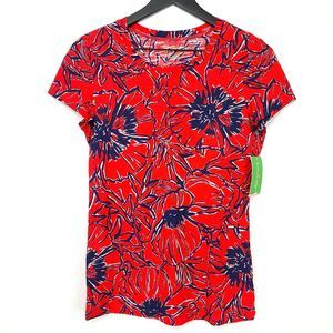 Lilly Pulitzer Lexie Crew Short Sleeve Top